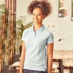 Women's 65/35 poly/cotton polo