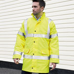 Core safety high-viz coat coat