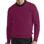 Glenmuir V Neck Lambswool Swt
