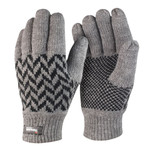 Result Pattern Thinsulate Gloves