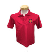 Wheelock Primary Polo Shirt - Red
