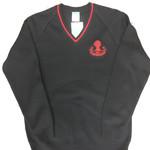 Sandbach Boys V-neck Jumper