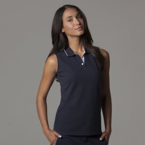 Women's Gamegear® proactive sleeveless polo Thumbnail