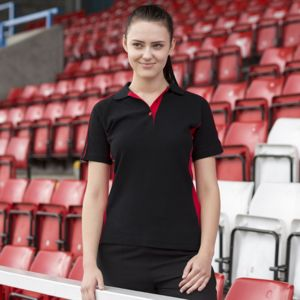 Women's sports polo Thumbnail