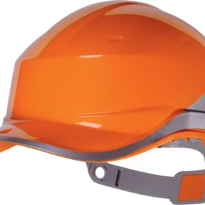 Delta Plus Hi-Vis Baseball Safety Helmet Thumbnail