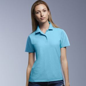 Anvil women's double piqué polo Thumbnail