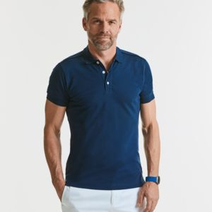 Russell Mens Stretch Polo Thumbnail