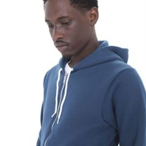 Two-tone flex fleece zip hoodie (F497) Thumbnail