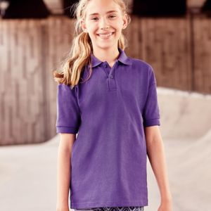 Jerzees Schoolgear Kids Poly/Cotton Piqué Polo Shirt Thumbnail