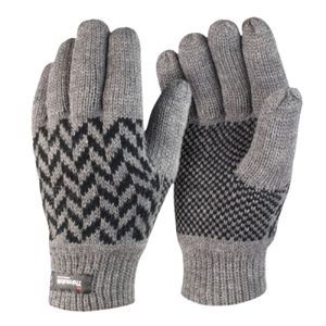 Result Pattern Thinsulate Gloves Thumbnail