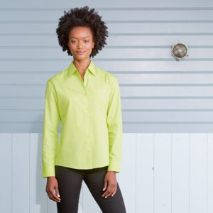 Women's long sleeve Easycare poplin shirt Thumbnail