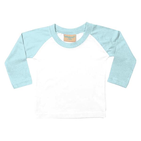 Larkwood Baby//Toddler T-Shirt White 3-4