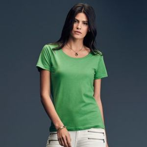 Anvil women's featherweight scoop tee Thumbnail