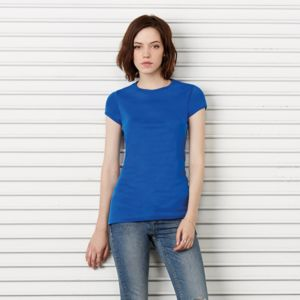Baby rib short sleeve crew neck t-shirt Thumbnail