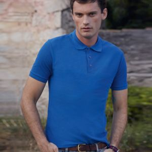 Fruit of the Loom Tailored Poly/Cotton Piqué Polo Shirt Thumbnail