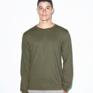 American Apparel Unisex Fine Jersey Long Sleeve T-Shirt Thumbnail