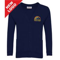 Haslington Primary Sweat Cardigan Thumbnail